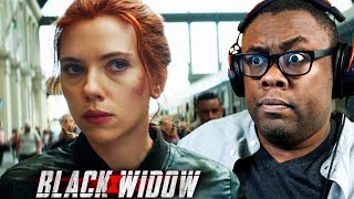 BLACK WIDOW Trailer Reaction & Thoughts | Black Nerd