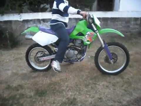Kawasaki Klx 650 R San Clemente Youtube