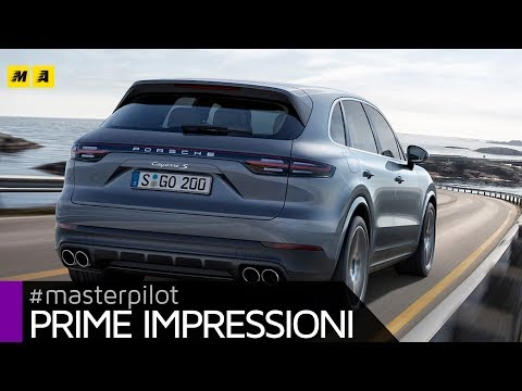 Nuova Porsche Cayenne 2017, Supercar Utility Vehicle plug-in