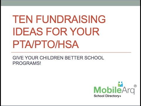 Innovative Fundraising for your school PTA and PTO