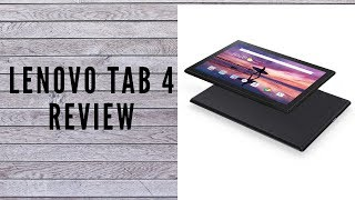 Lenovo tab 4 10.1 android tablet review