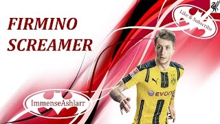 FIRMINO SCREAMER In Fifa 17 | Gameplay, Let's Play