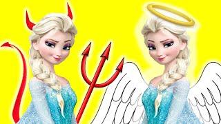 Evil Twin Elsa vs Elsa Spiderman Prank Funny Superhero Movie In Real Life In 4K