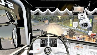 ETS2 (v1.35) - Scania RJL Tuning V8 Open Pipe Sound + Skin + Interior [Aero Curtainsider Trailer]