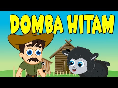 Domba Hitam | Lagu Anak Terpopuler | Baa Baa Black Sheep In Indonesian