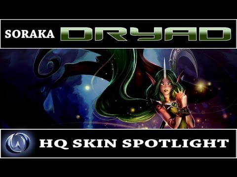 League of Legends: Dryad Soraka (HQ Skin Spotlight)