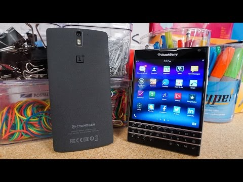 OnePlus 2 Specs and Android-Powered BlackBerry Slider