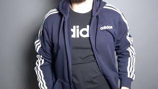 Скачать Unboxing Adidas DU0471 Veste De Survêtement Essentials 3 Stripes Test