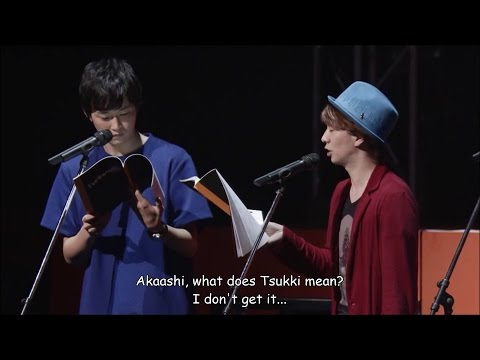 ENG SUB Haikyuu!! Matsuri 2015 part 1/2 Live Reading Afureko with Fukurodani