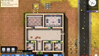 Prison Architect--1.Bölüm/Temeller ve Boru Hatları Video