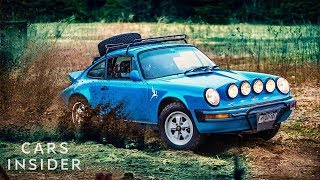 How Luxury Porsches Are Transformed Into Off-Road Vehicles