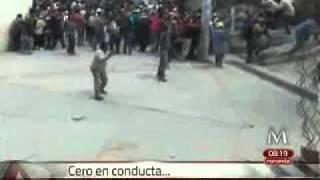 """Sacan """"Cero en conducta"""" maestros de Oaxaca"""