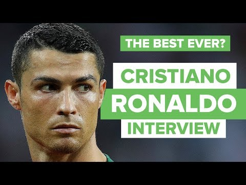MY LEGACY WILL BE GREAT | Cristiano Ronaldo interview and epic quickfire questions