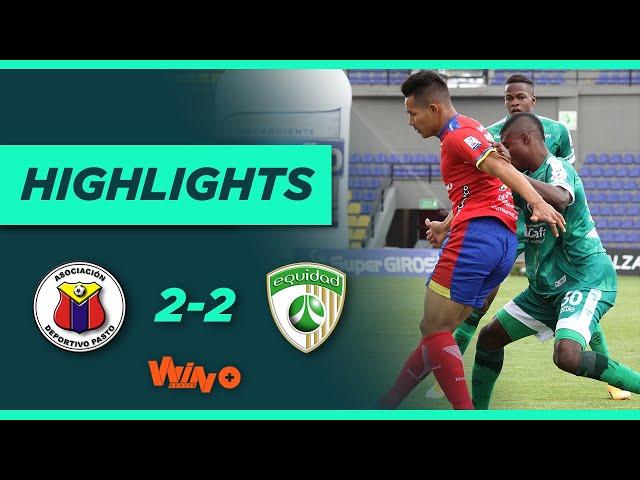Pasto vs. La Equidad (Goles y highlights) | Liga BetPlay Dimayor 2021 - Fecha 1