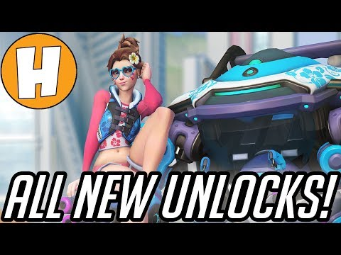 overwatch-summer-games-2018---all-new-skins,-highlight-intros,-emotes-+-voice-lines!-|-hammeh