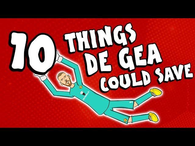 🧤10 THINGS DAVID DE GEA COULD SAVE🧤 (Spurs vs Man Utd 0-1 Parody Rashford)