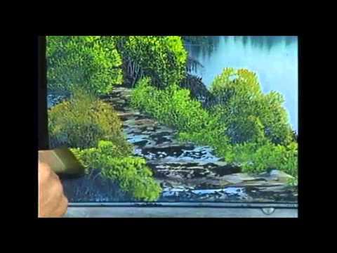 Bob Ross - Malerei Fernen Berge - Malerei Video