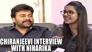 Chiranjeevi Exclusive Interview by Niharika | Megastar | Khaidi No 150 | BossIsBack | Shreyasmedia