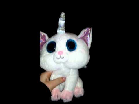 My New Stuffy Rainbow Unicorn Butterfly Kitty Youtube
