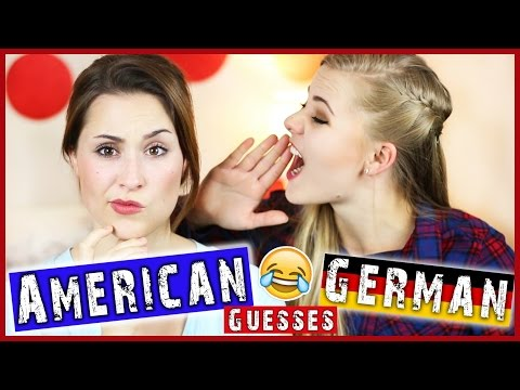 AMERICAN GUESSES GERMAN WORDS ft. Alice!