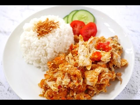 Resep: Ayam Geprek Khas Jogja - YouTube