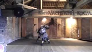 Коломенский кремль! бой на мечах!(Video uploaded from my mobile phone., 2013-01-26T13:42:06.000Z)