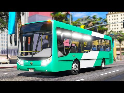 How To Become A City Bus Driver In GTA 5!!