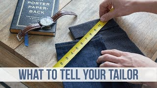 How to Tailor your Pants | Finding the Best Tailor for You | Men's Fashion