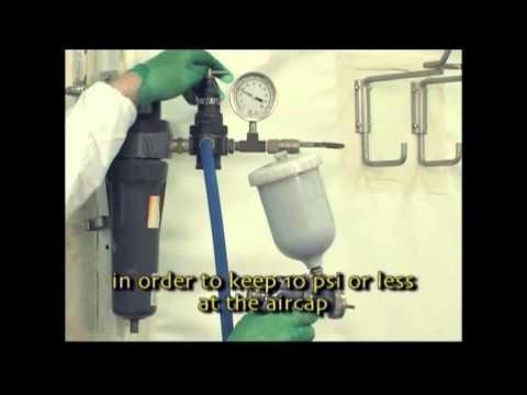 Full Segment on Spraying Dye Stains