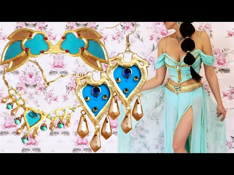 DIY Princess Jasmine Costume Jewelry