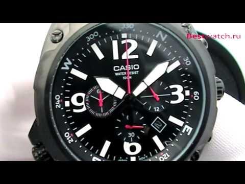Обзор мужских часов Casio Bracelet MTF-E002L-1A и MTF-E002-7A