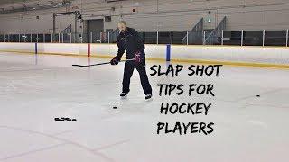 SLAP SHOT RELEASE TIPS FOR HOCKEY PLAYERS