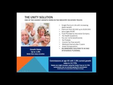 New Estate Trust With Unity Financial