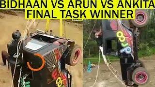 Bidhaan Vs Arun Vs Ankita Final Task amp Winner Leaked MTV Roadies Real Heroes