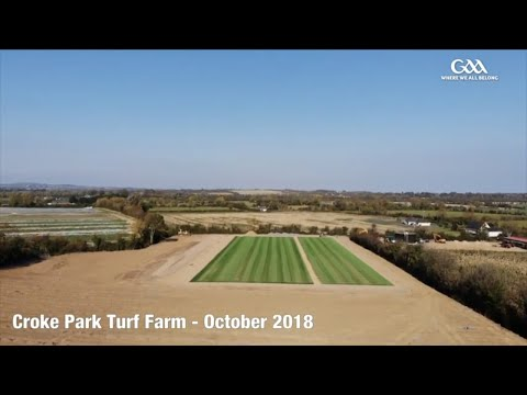 Croke Park Turf Farm - From Seed To Harvest