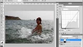 Уроки Фотошопа - Коррекция Фотографий с Отпуска