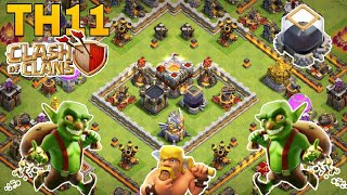 Th11 farming base/coc th11 all storage protection farming base 2018/trophy base/clash of clan