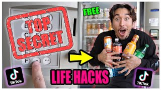 We TESTED Viral TikTok Life Hacks.... (MOST SHOCKING) *PART 9*