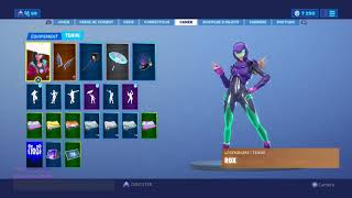 Jhave completed the challenge of the skin rox FORTNITE season 9
