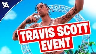 TRAVIS SCOTT Fortnite Event | FULL HD