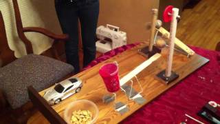 Simple Rube Goldberg Machine - Pouring Milk