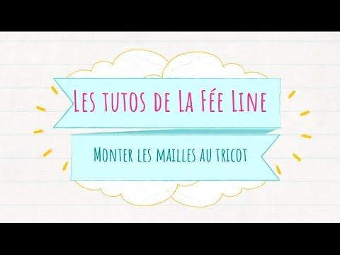 Tuto Monter Les Mailles Au Tricot La Fée Line