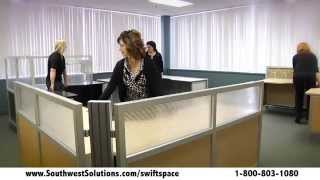 Swing Space Office Furniture Rolling Desks Mobile Workstations Thumbnail