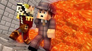 Minecraft: NIE UCIEKNIESZ = SPŁONIESZ W LAWIE! - Dealer & Flothar