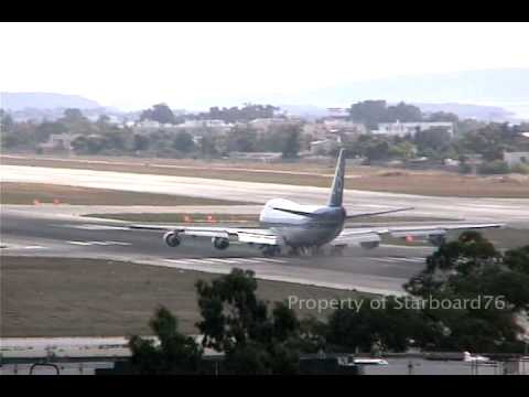 Olympic Airways 747-212B SX-OAE Engine fire on take off at Athens