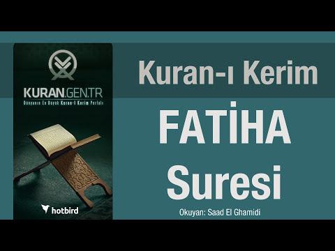 fatiha suresi dinle ezberle türkçe meali oku. kuran.gen.tr