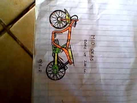 Izarnazar Gambar Mewarnai Motor Drag