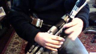 Port na bPúcaí - Slow Air - performed on the Irish Uilleann Pipes by Patrick D