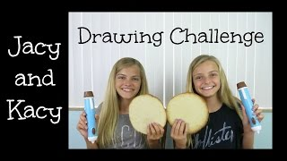 Chocolate Pen ~ Drawing Challenge ~ Jacy and Kacy