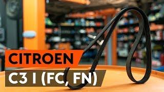 Jak a kdy vyměnit Hlavni brzdovy valec CITROËN C3 I (FC_): video návody